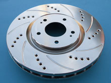SP Performance Rotors - Nickel Plated