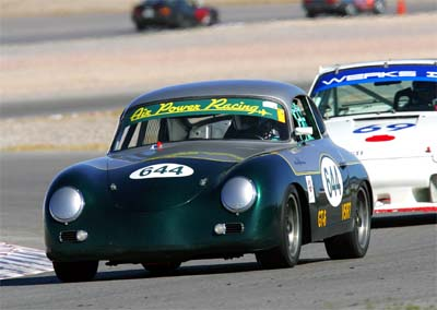 William in UT using Hawk Brake pads - 1956 Porsche 356A Coupe
